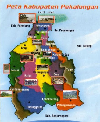peta wisata Pekalongan1