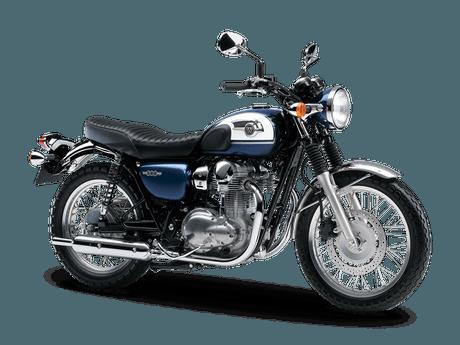 Kawasaski-W800-warna-biru