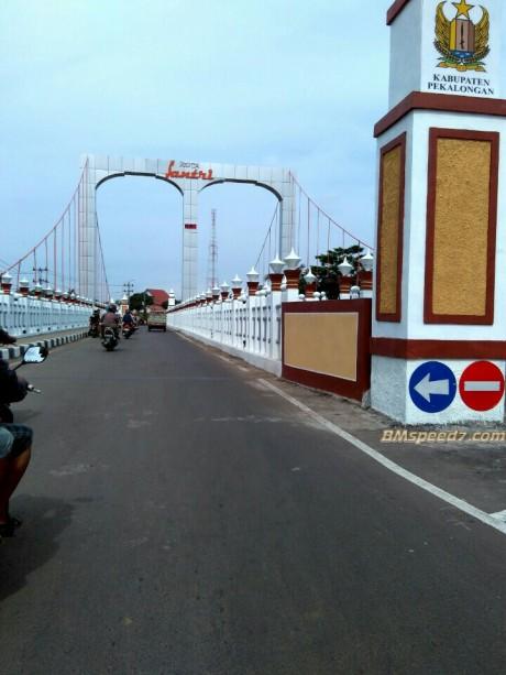 Jembatan Surobayan Wonopringgo-Kedungwuni Pekalongan