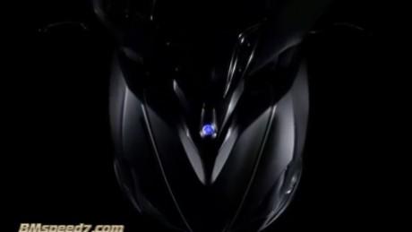 Tampak depan Yamaha NVX 155,seklias mirip Vario 150