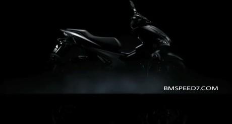 shape design Yamaha NVX 155 serba tajam khas super sport scooter