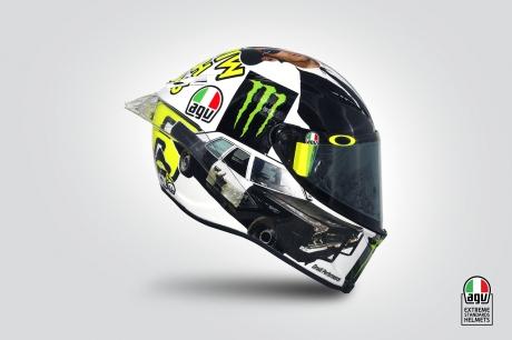 AGV Pista GP Rossi Misano 2016
