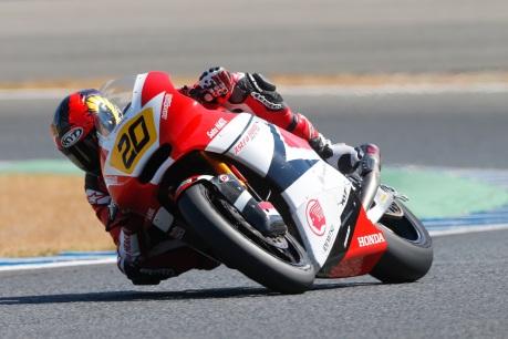 Dimas Ekky di kejuaraan CEV Moto2 seri Jerez