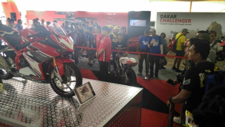 All New Honda CBR250RR Hadir Di MotoGP Sepang