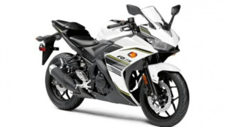 Yamaha R25 Facelift 2017, Warna Putih Hitam