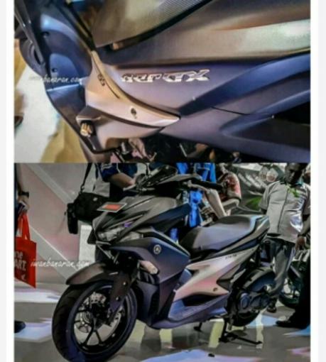 Yamaha Aerox 155 tipe premium