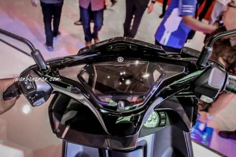 Speedometer Full digital bentangan Layar LCD 5,8 inchi