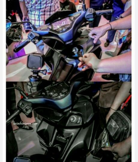 Keyless ignition Yamaha Aerox 155 Tipe premium