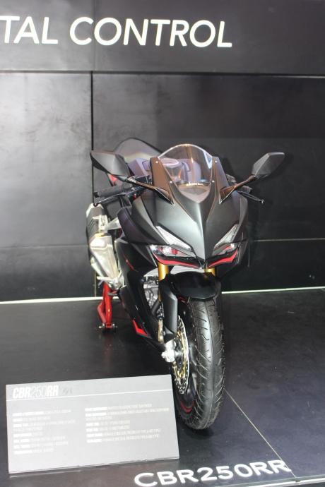 All New Honda CBR250RR Black Matte at IMOS 2016