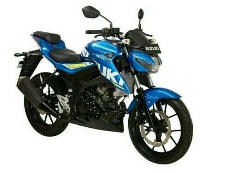 New Suzuki GSX-S150 warna biru team MotoGP Suzuki Ecstar