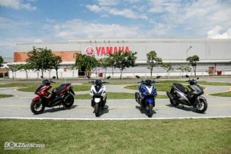 4 pilihan warna Yamaha Aerox 155 Thailand