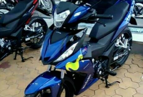 All New Honda Supra GTR150 Livery Movistar