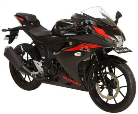 New Suzuki GSX-R150 2017 warna hitam metalik striping merah