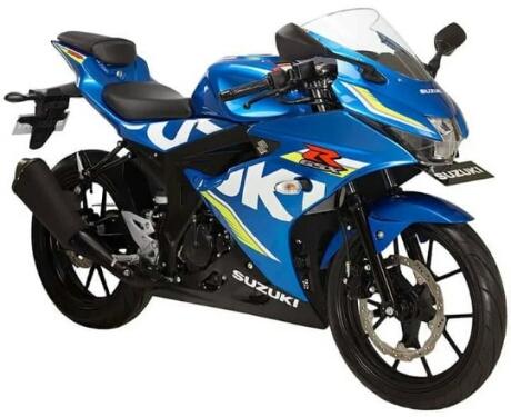 New Suzuki GSX-R150 2017 warna biru team MotoGP Suzuki Ecstar