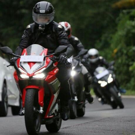 Touring All New Honda CBR250RR Di Bali