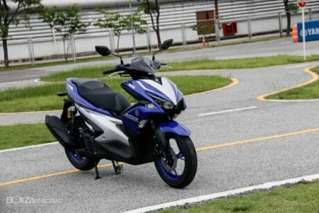 Ini Dia Yamaha Aerox 155 VVA Versi Thailand... Rencana Akan Rilis Dipameran Thailand International Motor Show 2016