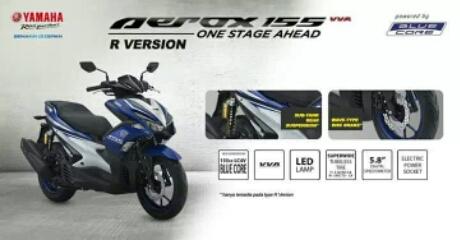 Yamaha Aerox 155 Tipe sport beserta feature