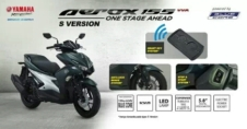 Yamaha Aerox 155 Tipe premium beserta feature