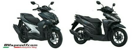 Yamaha Aerox 155 Vs Honda Vartech Vario 150
