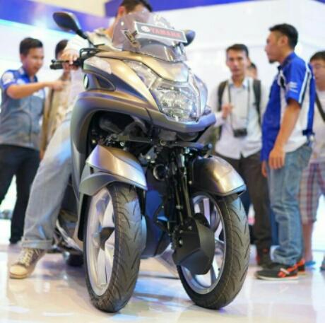 Ergonomi Yamaha Tricity